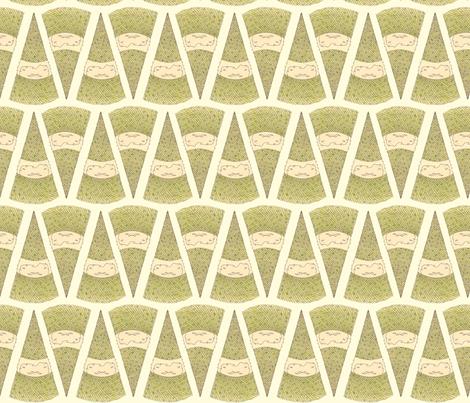 Gnome fabric by beeskneesindustries on Spoonflower - custom fabric