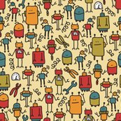 Rretro_robot_pattern_spoon_shop_thumb