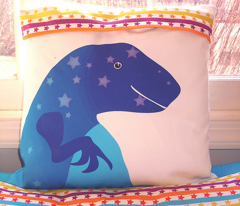 Dinosaur Pillows or Totes