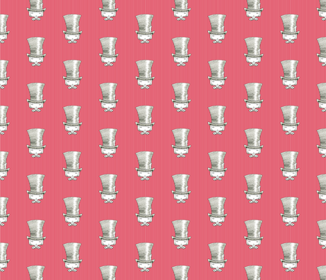 Mad Hatter fabric by beeskneesindustries on Spoonflower - custom fabric