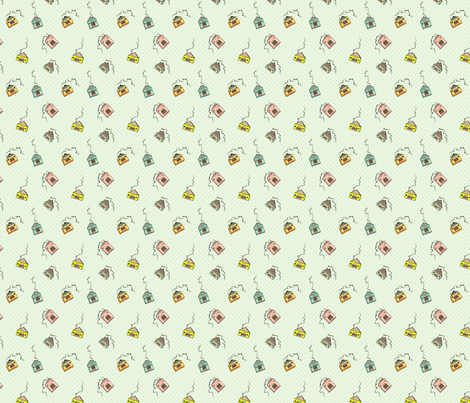 House Party fabric by beeskneesindustries on Spoonflower - custom fabric