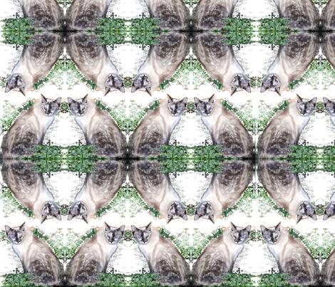 Koko, Princess of Willow fabric by megdooley on Spoonflower - custom fabric