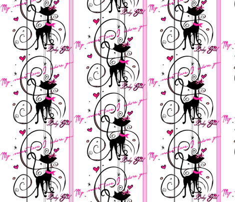 my_sweet_love #4 /stripe fabric by paragonstudios on Spoonflower - custom fabric