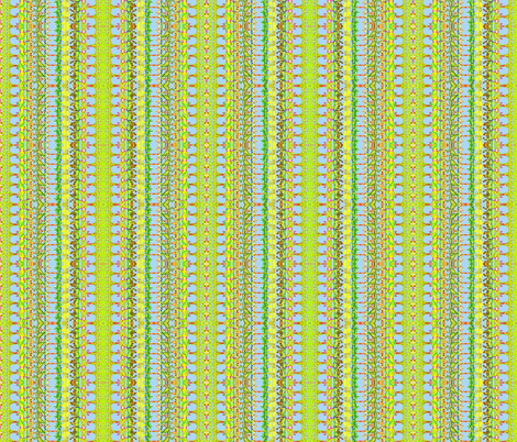 Stripes of Flowering Vines fabric by robin_rice on Spoonflower - custom fabric
