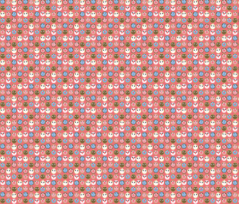 donuts fabric by heidikenney on Spoonflower - custom fabric