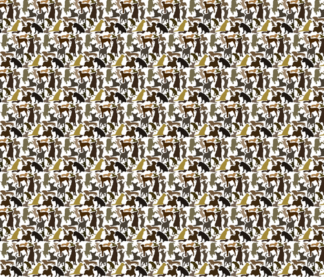 dogsdoodie fabric by jerm on Spoonflower - custom fabric