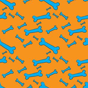 Pop Bones - orange