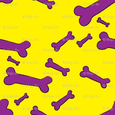 Pop Bones - yellow