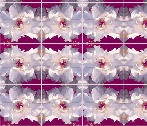 Palest of Roses Reborn fabric by engelstudios on Spoonflower - custom fabric