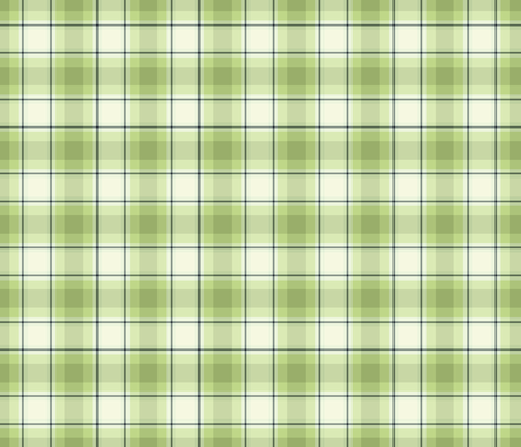 green plaid fabric by suziedesign on Spoonflower - custom fabric