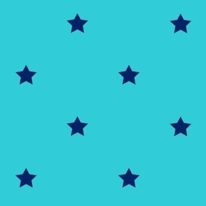 STARS_turquoise_blue