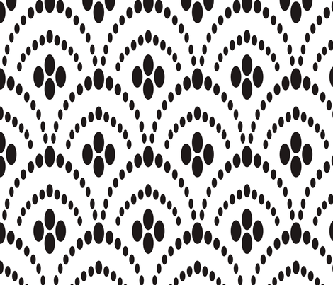 Deco Bead Curtain fabric by miss_jess on Spoonflower - custom fabric