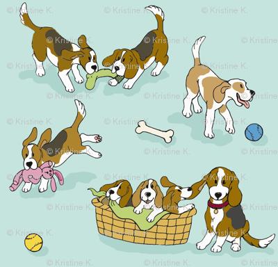Beagle 'Dog-Ma'
