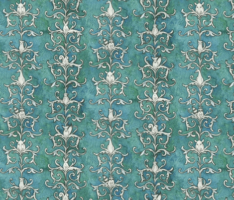 Quarry Wallpaper fabric by ceanirminger on Spoonflower - custom fabric