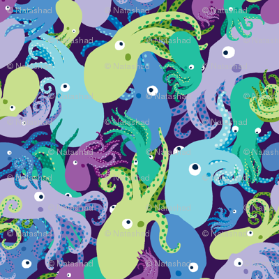 OctoPaisley-DeepLights-Sea