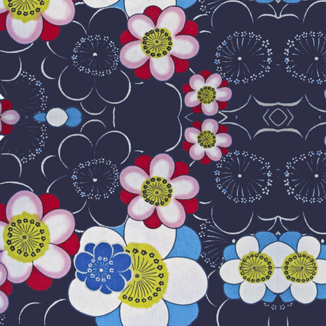 blommor fabric by snork on Spoonflower - custom fabric
