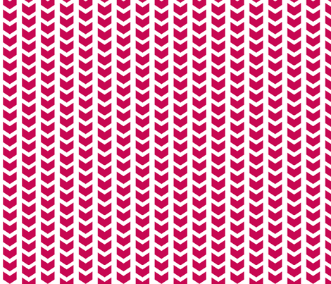 herringbone hot pink fabric by ninaribena on Spoonflower - custom fabric