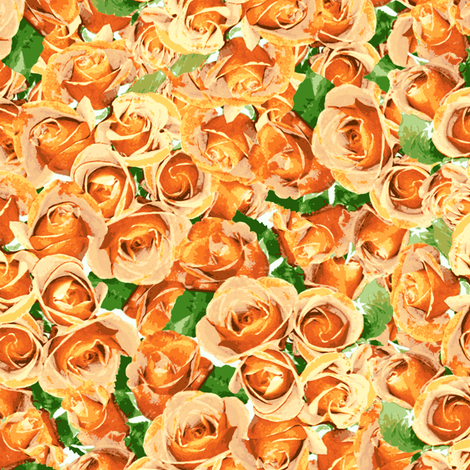 Abundant Roses - Apricot
