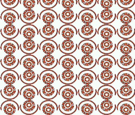 flower_circles fabric by snork on Spoonflower - custom fabric