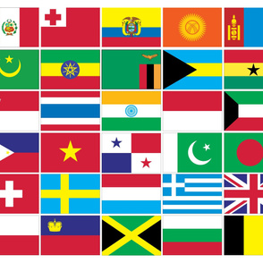 International Flag Bunting #3