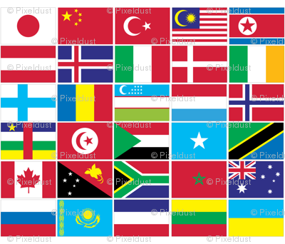 International Flag Bunting #1