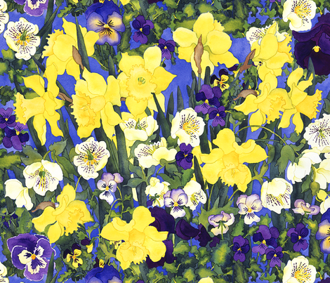 Fertile Rising fabric by erinwilliams on Spoonflower - custom fabric