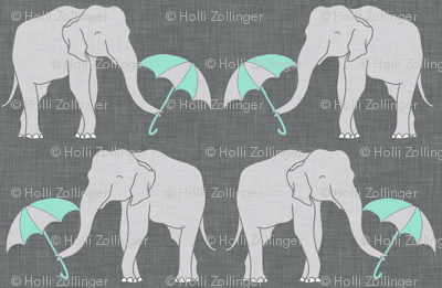 elephant and umbrella mint