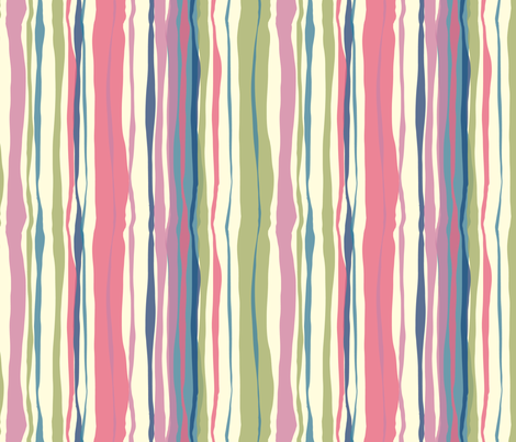 Bright Stripes fabric by marlene_pixley on Spoonflower - custom fabric