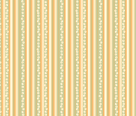 Green Stripes fabric by marlene_pixley on Spoonflower - custom fabric