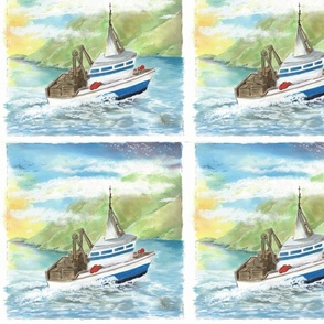 Lu_beach_Quilt_crab_boat