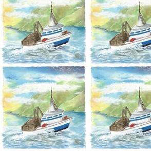 Lu_beach_Quilt_crab_boat