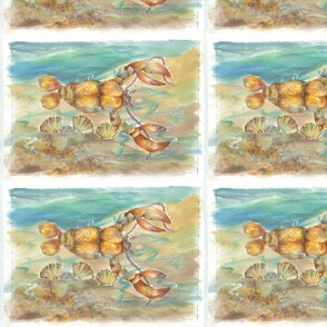 Lu_beach_Quilt_lobster