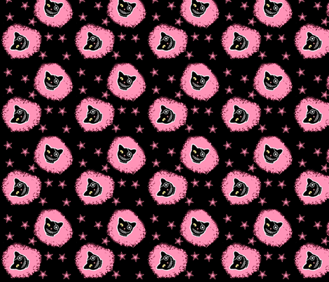 CutenEvil fabric by eerie_doll on Spoonflower - custom fabric