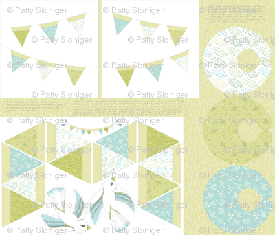 Baby Bird Bunting with Accessories