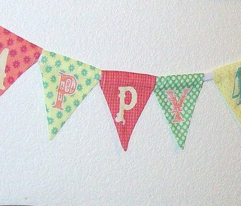Count 'Em Up! Birthday Bunting