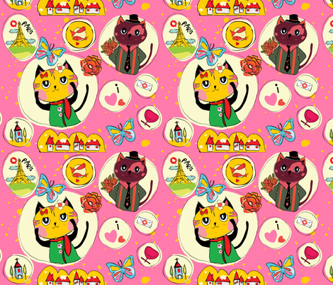 The Proposal. fabric by beeosx on Spoonflower - custom fabric