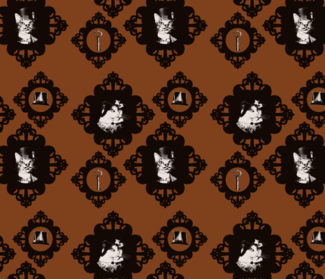 Abigail and Oswin fabric by rayne on Spoonflower - custom fabric