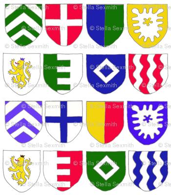 Medieval Bunting