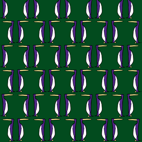 Purple Penguins fabric by pond_ripple on Spoonflower - custom fabric