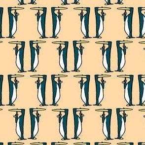 Teal Penguins