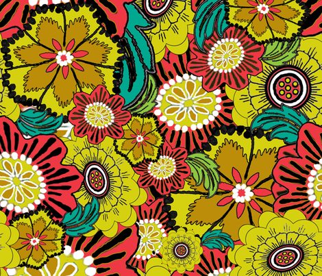 Brobdingnag Garden fabric by poetryqn on Spoonflower - custom fabric