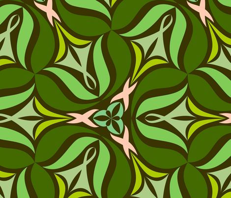 Vilda B X-Large fabric by helena on Spoonflower - custom fabric