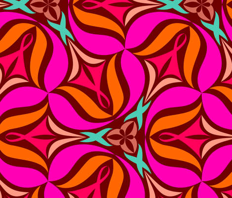 Vilda F X-Large fabric by helena on Spoonflower - custom fabric