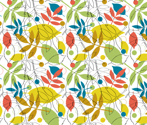 Autumn Play fabric by jennartdesigns on Spoonflower - custom fabric