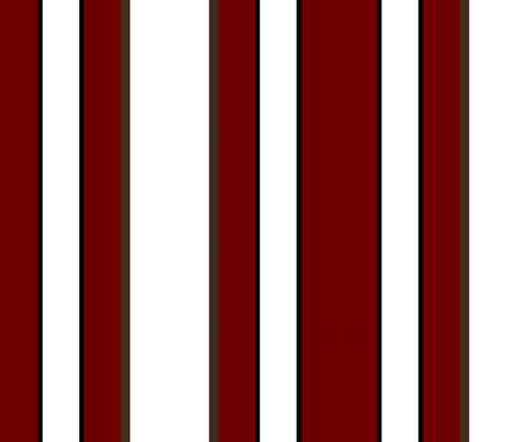 Red Coral Beach / Cabana stripe  fabric by paragonstudios on Spoonflower - custom fabric