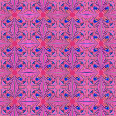 MosaicBlueJem fabric by grannynan on Spoonflower - custom fabric