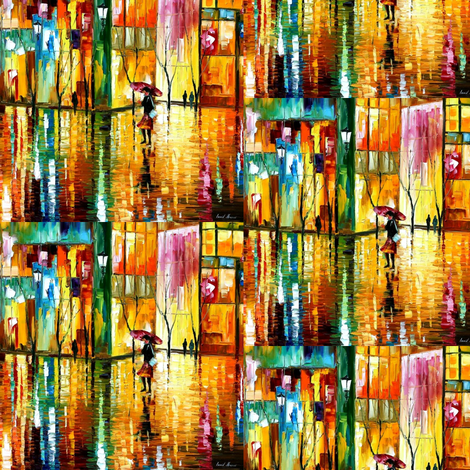 Midnight Rythm fabric by afremov_designs on Spoonflower - custom fabric