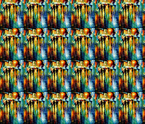 Rainy Etude fabric by afremov_designs on Spoonflower - custom fabric