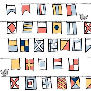 Beyond the Sea: Nautical Flags