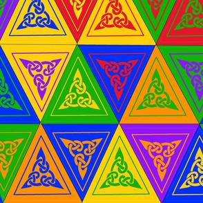 celtic bunting fabric
